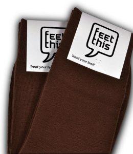 bruine sokken