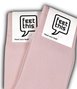 roze sokken