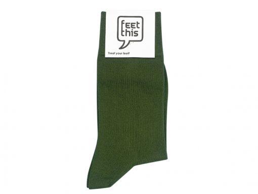 Leger groene sok