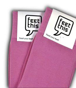 fuchsia roze sokken