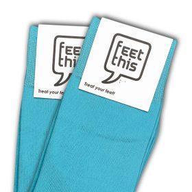 Zomer blauw sokken - productafbeelding - dubbel