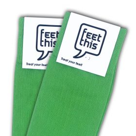 briljant groen sokken - productafbeelding - dubbel