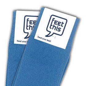 denim blauw sokken - productafbeelding - dubbel