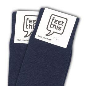 donker blauw sokken - productafbeelding - dubbel