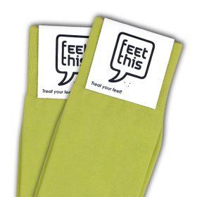 gif groen sokken - productafbeelding - dubbel