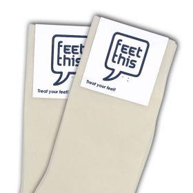 ivoor wit sokken - productafbeelding - dubbel