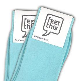 licht blauw sokken - productafbeelding - dubbel