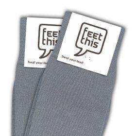 licht grijs sokken - productafbeelding - dubbel