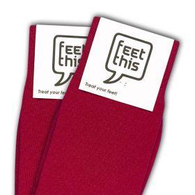 licht rood sokken - productafbeelding - dubbel