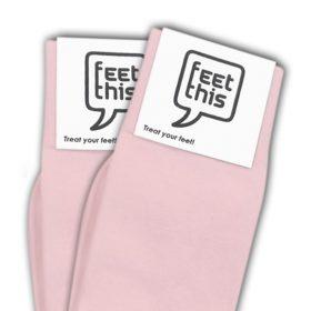 licht roze sokken - productafbeelding - dubbel
