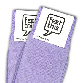 lila paars sokken - productafbeelding - dubbel