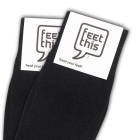nacht zwart sokken - productafbeelding - dubbel