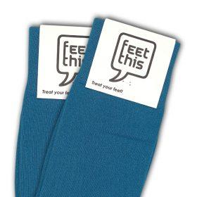 perzisch blauw sokken - productafbeelding - dubbel