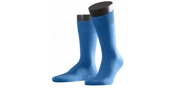 blauwe herensokken