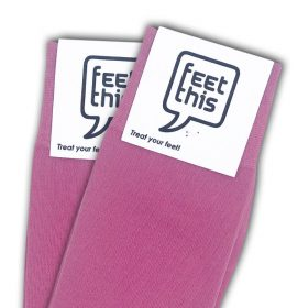 thule roze sokken - productafbeelding - dubbel