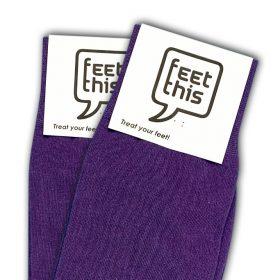 violet paars sokken - productafbeelding - dubbel