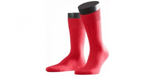 licht rode sokken