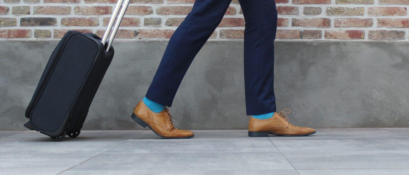Blauwe sokken kopen bij Feet This