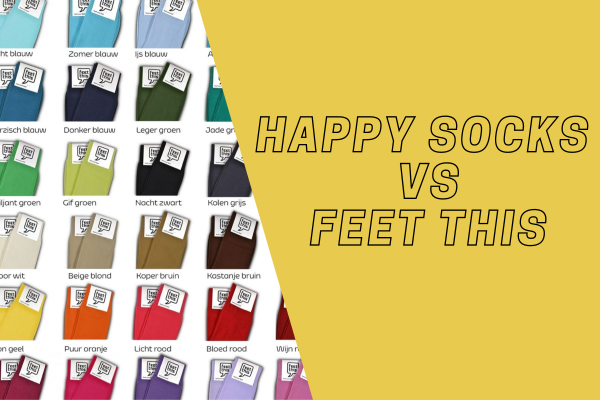 HAPPY SOCKS VS FEETTHIS