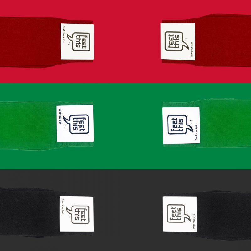 Aalsmeer vlag -  Sokken in de Aalsmeerse kleuren