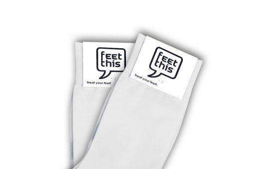 Spier wit sokken