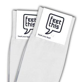 spier wit sokken - productafbeelding - dubbel